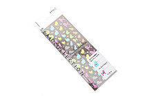 Midori Seal Collection Planner Stickers - Clear Animal - MIDORI 82142-006