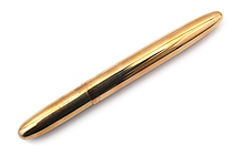 Fisher Space Pen Bullet Ballpoint Pen - Medium Point - Raw Brass Body - FISHER SPACE PEN 400RAW