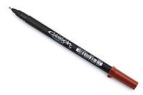 Sakura Pigma Calligrapher Pen - 1.0 mm - Sepia - SAKURA XSDK-C10-117