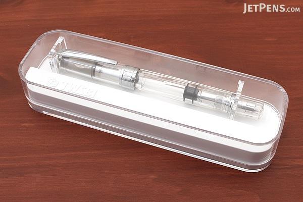 TWSBI Diamond 580AL Silver Fountain Pen - Extra Fine Nib - TWSBI M7444240