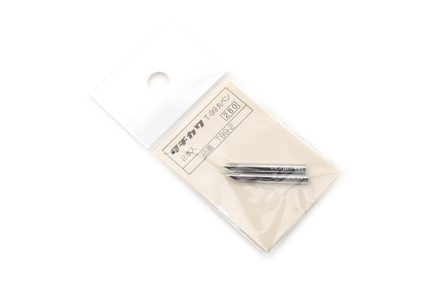 Tachikawa Comic Pen Nib - Maru (Mapping) Model - Pack of 2 - TACHIKAWA 99-2