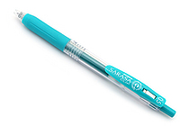 Zebra Sarasa Push Clip Gel Pen - 0.5 mm - Blue Green - ZEBRA JJ15-BG