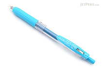 Zebra Sarasa Push Clip Gel Pen - 0.5 mm - Light Blue - ZEBRA JJ15-LB