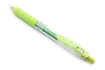 Zebra Sarasa Push Clip Gel Pen - 0.5 mm - Light Green - ZEBRA JJ15-LG