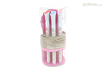 Sakura Decorese Gel Pen - 0.6 mm - 5 Color Set - Pastel Fruity - SAKURA DB206P5A