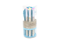 Sakura Decorese Gel Pen - 5 Color Set - Pastel Floral - SAKURA DB206P5B