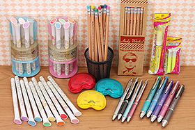 New Products: Ergonomic Pens, Andy Warhol Pencils, Photo Pens, Crafting Supplies and More!