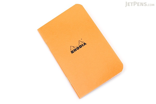 Rhodia Pocket Size Notebook - A7 - Graph - Orange - RHODIA 119158