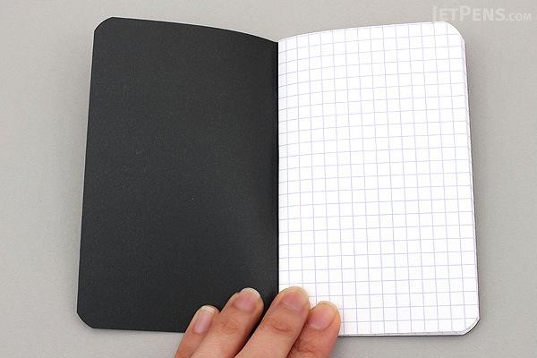 Rhodia Pocket Size Notebook - A7 - Graph - Black - RHODIA 119159