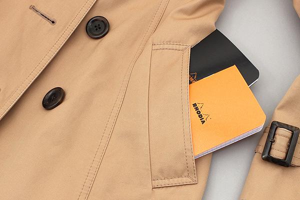 Rhodia Pocket Size Notebook - A7 - Graph - Orange - RHODIA 119158