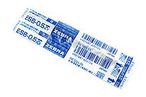 Zebra ESB-0.5 Emulsion Ink Ballpoint Pen Refill - D1 - 0.5 mm - Blue - ZEBRA RESB5-BL