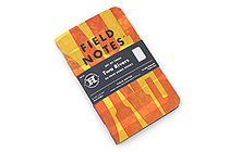 """Field Notes Color Cover Memo Book - Two Rivers Limited Edition - 3.5"""" x 5.5"""" - 48 Pages - Graph - Pack of 3 - FIELD NOTES FNC-26"""