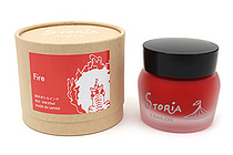Sailor STORiA Fire Red Ink - Pigment - 30 ml Bottle - SAILOR 13-1502-230