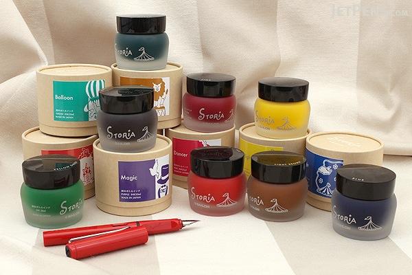 Sailor STORiA Lion Light Brown Ink - Pigment - 30 ml Bottle - SAILOR 13-1502-278
