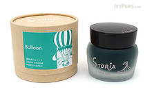 Sailor STORiA Balloon Green Ink - Pigment - 30 ml Bottle - SAILOR 13-1502-260