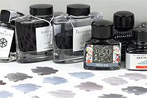Gray Fountain Pen Ink Comparison
