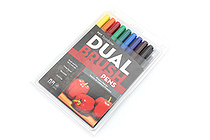 Tombow ABT Dual Brush Pen - 10 Pen Set - Primary - TOMBOW 56167
