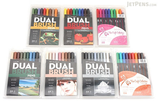 Tombow ABT Dual Brush Pen - 10 Pen Set - Secondary - TOMBOW 56168