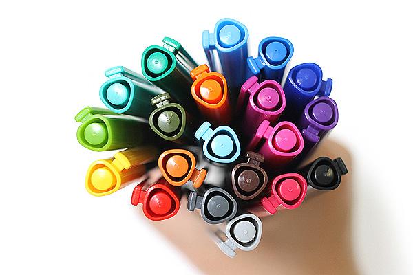 Staedtler Triplus Fineliner Pen - 0.3 mm - 20 Color Set - STAEDTLER 334 SB20A6