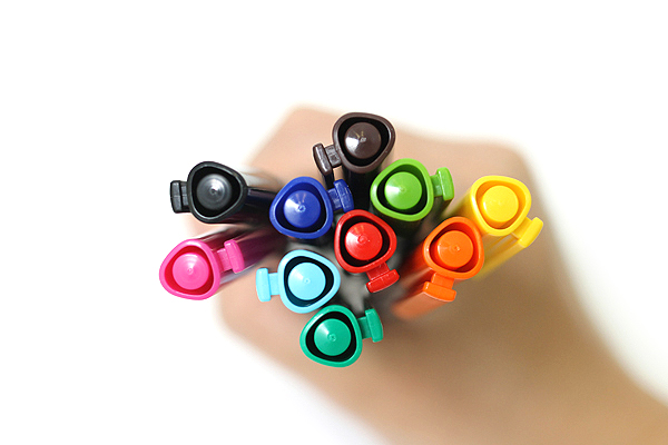 Staedtler Triplus Fineliner Pen - 0.3 mm - 10 Color Set - STAEDTLER 334 SB10A603
