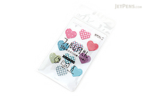 Midori Film Sticky Notes Mini - Hearts - MIDORI 11375-006