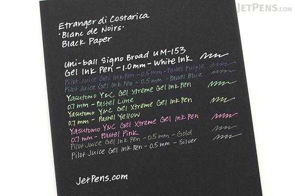 Etranger di Costarica Blanc de Noirs Black Paper - A4 - 50 Sheets - ETRANGER DI COSTARICA PRNA4-BK-01