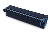 Kokuyo C2 Tray Type Pencil Case - Slim - Navy - KOKUYO F-VBF140-1