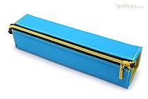 Kokuyo C2 Tray Type Pencil Case - Slim - Blue - KOKUYO F-VBF140-4