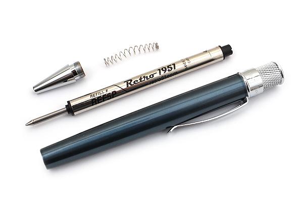 Retro 51 Tornado Classic Lacquers Rollerball Pen - 0.7 mm - Ice Blue Body - RETRO 51 VRR-1318