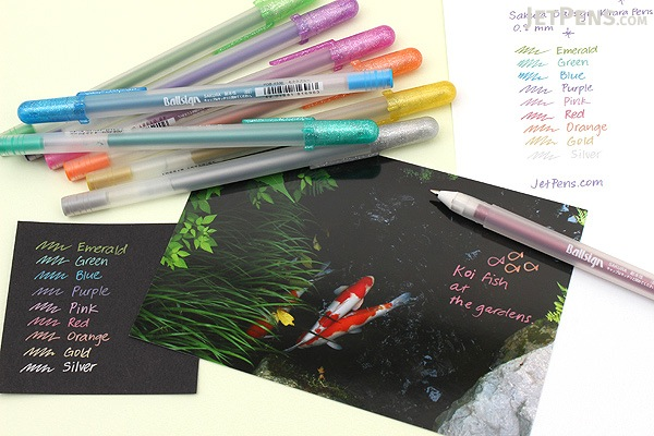 Sakura Ballsign Kirara Pen - 0.8 mm - Silver - SAKURA PGB#553