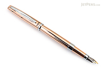 Regal 286 Ernest Hemingway Fountain Pen - Rose Gold - Medium Nib - REGAL 286F-RG