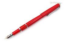 Regal 82 William Fountain Pen - Red - Medium Nib - REGAL 82F-R