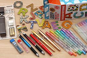 New Products: Fun and Colorful Kuru Toga Mechanical Pencils, Metallic Gel Pens, Magnetic Letters, and More!