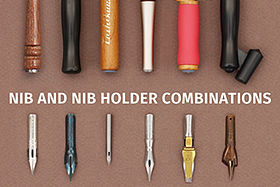 Guide to Nibs and Nib Holders