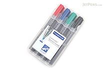 Staedtler Lumocolor Flipchart Marker 356 - 4 Color Set - STAEDTLER 356 WP4