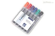 Staedtler Lumocolor Flipchart Marker 356 - 6 Color Set - STAEDTLER 356 WP6