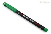 Stabilo OHPen Universal Permanent Marker - Fine - Green - STABILO 842-36