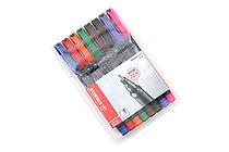 Stabilo OHPen Universal Permanent Marker - Fine - 8 Color Set - STABILO 842-8