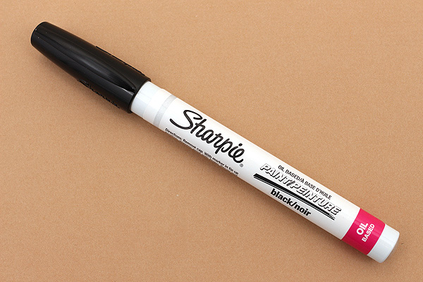 Sharpie Oil-Based Paint Marker - Extra Fine Point - Black - SHARPIE 35526