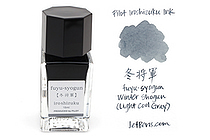 Pilot Iroshizuku Mini Ink - 15 ml - Fuyu-syogun Winter Shogun (Light Cool Gray) - PILOT INK-15-FS