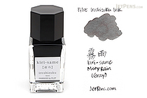 Pilot Iroshizuku Kiri-same Ink (Misty Rain) - 15 ml Bottle - PILOT INK-15-KS