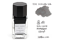 Pilot Iroshizuku Mini Ink - 15 ml - Kiri-same Misty Rain (Gray) - PILOT INK-15-KS