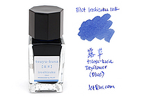 Pilot Iroshizuku Tsuyu-kusa Ink (Dayflower) - 15 ml Bottle - PILOT INK-15-TS