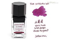 Pilot Iroshizuku Yama-budo Ink (Wild Grapes) - 15 ml Bottle - PILOT INK-15-YB
