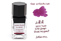 Pilot Iroshizuku Mini Ink - 15 ml - Yama-budo Wild Grapes (Purple Magenta) - PILOT INK-15-YB