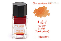Pilot Iroshizuku Yu-yake Ink (Sunset) - 15 ml Bottle - PILOT INK-15-YU