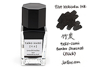 Pilot Iroshizuku Mini Ink - 15 ml - Take-sumi Bamboo Charcoal (Black) - PILOT INK-15-TAK