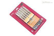 Sakura Pigma Brush Pen - 6 Color Set - SAKURA 38061