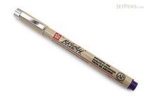 Sakura Pigma Brush Pen - Purple Ink - SAKURA XSDK-BR-24