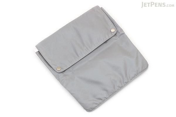 Kokuyo Bizrack Bag in Bag - 2 Way Pouch - A5 - Silver Gray - KOKUYO KAHA-BR22M